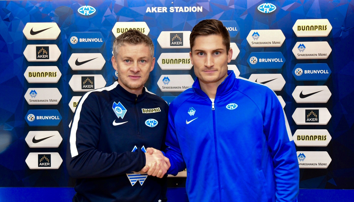 Haugen klar for Molde FK